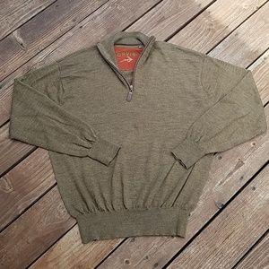 Orvis 100% Wool Sweater